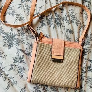 Peach wallet purse